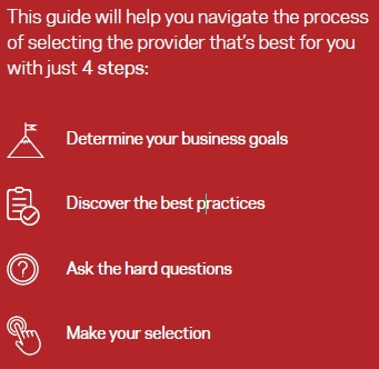 Selection eGuide: A Tried and True Process for Selecting the Right Data Protection Provider