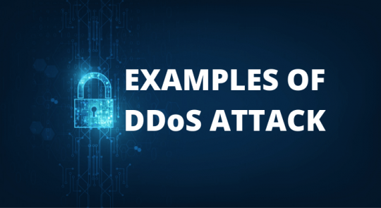 DDoS attack examples