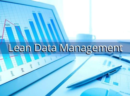 Lean Data Management